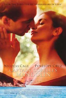 Captain Corelli's Mandolin - 11 x 17 Movie Poster - Style A