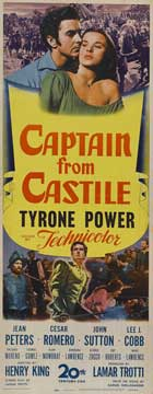 Captain from Castile - 14 x 36 Movie Poster - Insert Style A