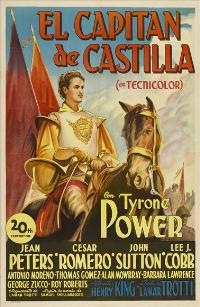 Captain from Castile - 27 x 40 Movie Poster - Spanish Style A