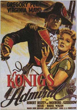 Captain Horatio Hornblower - 11 x 17 Movie Poster - German Style A