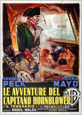Captain Horatio Hornblower - 11 x 17 Movie Poster - Italian Style A