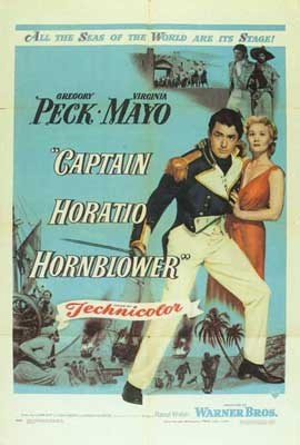 Captain Horatio Hornblower - 27 x 40 Movie Poster - Style A