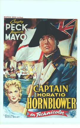 Captain Horatio Hornblower - 11 x 17 Movie Poster - Belgian Style A