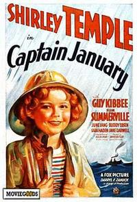 Captain January - 43 x 62 Movie Poster - Bus Shelter Style A