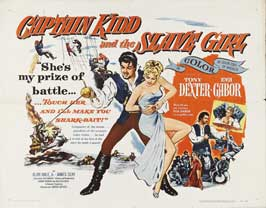 Captain Kidd and the Slave Girl - 22 x 28 Movie Poster - Half Sheet Style A