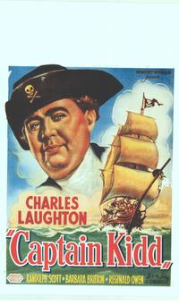 Captain Kidd - 14 x 22 Movie Poster - Belgian Style A