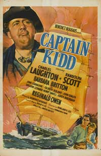 Captain Kidd - 27 x 40 Movie Poster - Style B