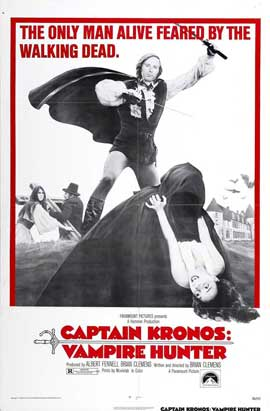Captain Kronos - Vampire Hunter - 27 x 40 Movie Poster - Style A