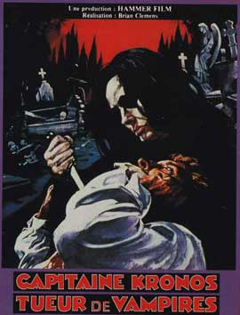 Captain Kronos - Vampire Hunter - 11 x 17 Movie Poster - French Style A