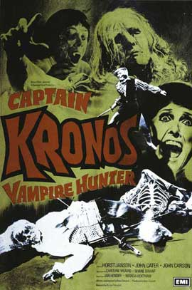 Captain Kronos: Vampire Hunter - 11 x 17 Movie Poster - UK Style A