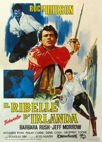 Captain Lightfoot - 27 x 40 Movie Poster - Italian Style A