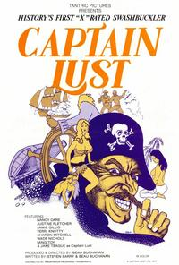 Captain Lust - 27 x 40 Movie Poster - Style A