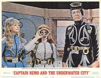 Captain Nemo and the Underwater City - 11 x 14 Movie Poster - Style B