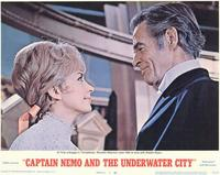 Captain Nemo and the Underwater City - 11 x 14 Movie Poster - Style G