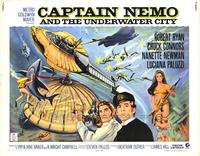 Captain Nemo and the Underwater City - 22 x 28 Movie Poster - Half Sheet Style A