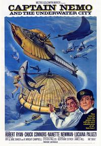 Captain Nemo and the Underwater City - 43 x 62 Movie Poster - Bus Shelter Style A