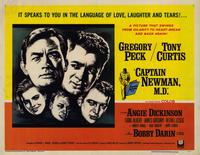 Captain Newman, M.D. - 11 x 14 Movie Poster - Style A