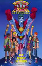 Captain Planet and the Planeteers - 11 x 17 Movie Poster - Style A