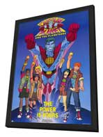 Captain Planet and the Planeteers - 11 x 17 Movie Poster - Style A - in Deluxe Wood Frame
