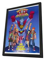 Captain Planet and the Planeteers - 27 x 40 Movie Poster - Style A - in Deluxe Wood Frame