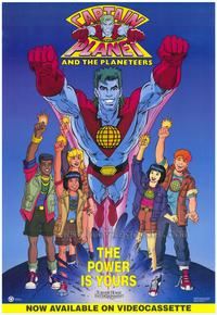 Captain Planet and the Planeteers - 43 x 62 Movie Poster - Bus Shelter Style A
