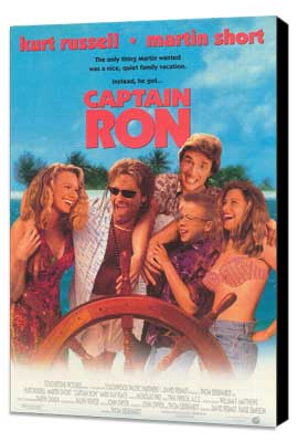 Captain Ron - 27 x 40 Movie Poster - Style A - Museum Wrapped Canvas