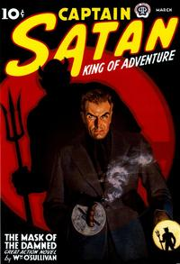 Captain Satan King of Adventure - 11 x 17 Movie Poster - Style A