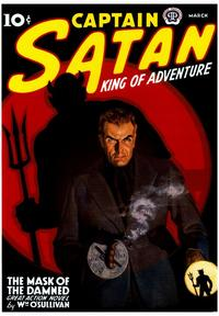 Captain Satan King of Adventure - 43 x 62 Movie Poster - Bus Shelter Style A