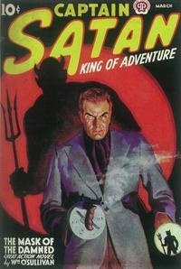 Captain Satan (Pulp) - 11 x 17 Pulp Poster - Style A