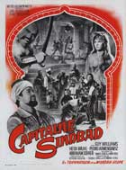 Captain Sindbad - 11 x 17 Movie Poster - French Style A