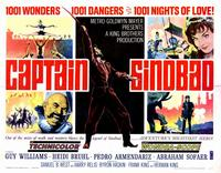 Captain Sindbad - 11 x 14 Movie Poster - Style A