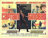 Captain Sindbad - 22 x 28 Movie Poster - Half Sheet Style A