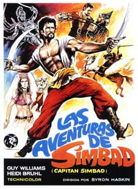 Captain Sindbad - 27 x 40 Movie Poster - Spanish Style A