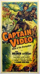 Captain Video, Master of the Stratosphere - 27 x 40 Movie Poster - Style B