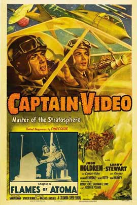 Captain Video, Master of the Stratosphere - 27 x 40 Movie Poster - Style A