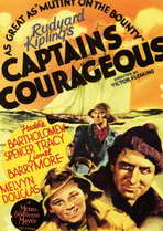 Captains Courageous - 11 x 17 Movie Poster - Style A