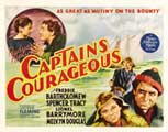 Captains Courageous - 22 x 28 Movie Poster - Half Sheet Style A
