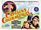 Captains Courageous - 11 x 17 Movie Poster - Style F