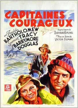 Captains Courageous - 11 x 17 Movie Poster - Belgian Style A