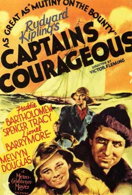 Captains Courageous - 27 x 40 Movie Poster - Style A
