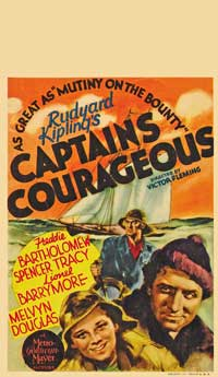 Captains Courageous - 11 x 17 Movie Poster - Style C