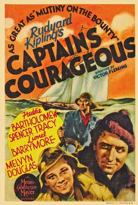 Captains Courageous - 27 x 40 Movie Poster - Style D