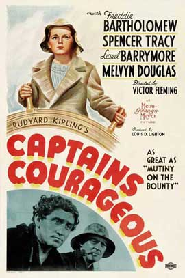 Captains Courageous - 27 x 40 Movie Poster - Style C