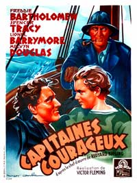 Captains Courageous - 11 x 17 Movie Poster - French Style A