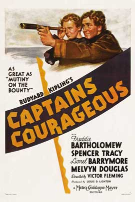 Captains Courageous - 27 x 40 Movie Poster - UK Style A