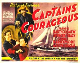 Captains Courageous - 11 x 17 Movie Poster - Style D