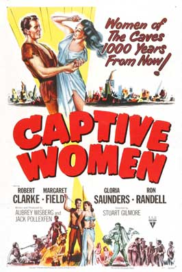 Captive Women - 11 x 17 Movie Poster - Style C