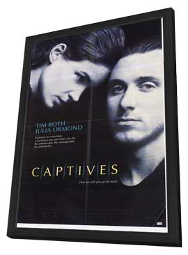 Captives - 27 x 40 Movie Poster - Style A - in Deluxe Wood Frame