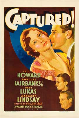 Captured! - 11 x 17 Movie Poster - Style A