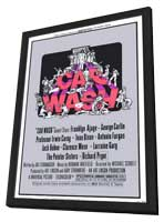 Car Wash - 27 x 40 Movie Poster - Style B - in Deluxe Wood Frame